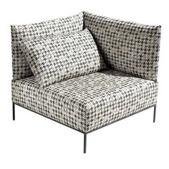 Adar Houndstooth Armchair, Right by MissoniHome