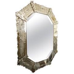 Stunningly Decorative 1920s Venetian Mirror