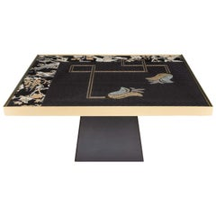 Oriental Flowers Coffee Table by Younik