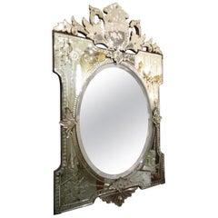 Gorgeous Elaborate Early 20th Century Venetian Mirror
