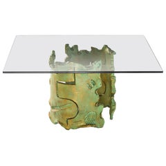 Maschere Coffee Table by Salvino Marsura