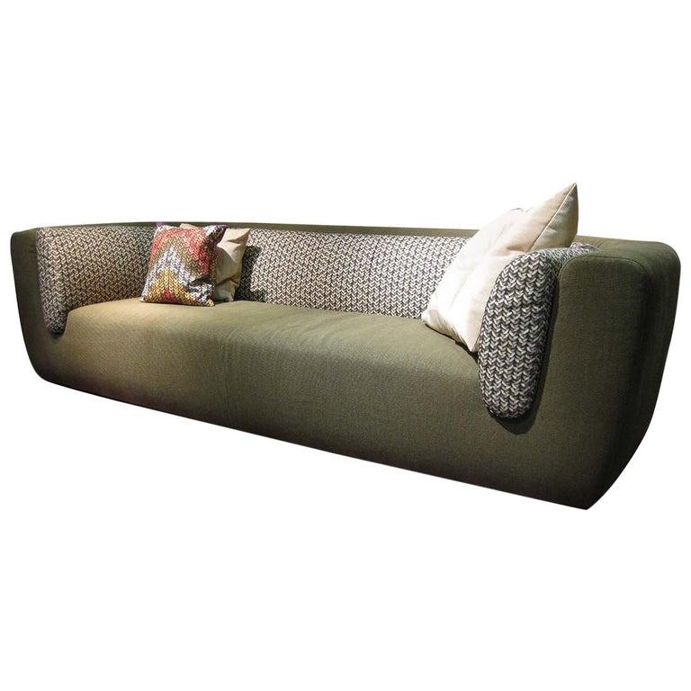 Missoni Home 3 Seat Sofa Gravita: Inntil Green 3-Seat Sofa By MissoniHome For Sale At 1stdibs