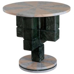 Caxus Marble Coffee Table 60 by Federico Sigali