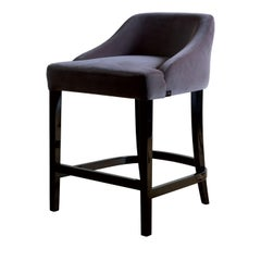 Vicky Gray Bar Chair by DOM Edizioni