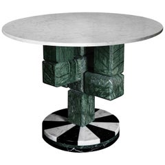 Caxus Marble Small Coffee Table by Federico Sigali