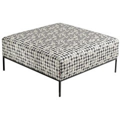Adar Houndstooth Ottoman by MissoniHome