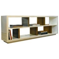 Sloane White Bookcase by Dom Edizioni