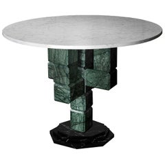 Caxus Marble Dining Table by Federico Sigali
