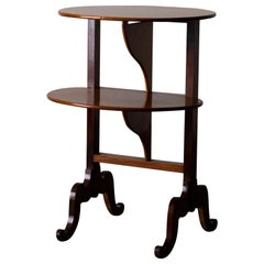 Side Table English 19th Century Light Mahogany, England