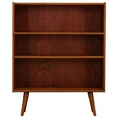 1960-1970 Bookcase Teak Scandinavian Design