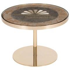 Golden Trail Side Table by Younik