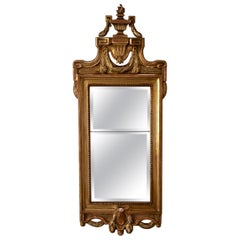 Mirror Wall Swedish Gustavian Gilded, Sweden