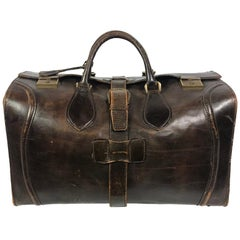 Travel Bag in Cow Leather