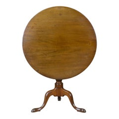 Antique Tilt-Top Table, English, Mahogany, Side, Early 19th Century, circa 1800