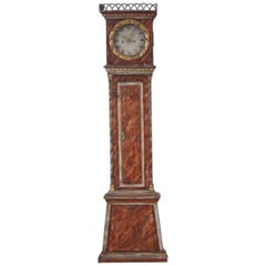 Original Painted Clock, 19th Century