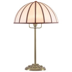 Josef Hoffmann Wiener Werkstätte Jugendstil Table Lamp Re-edition