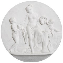 Plaster Relief after Bertel Thorvaldsen