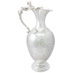 Silber Serviergeschirr, Keramik, Silber und Glas