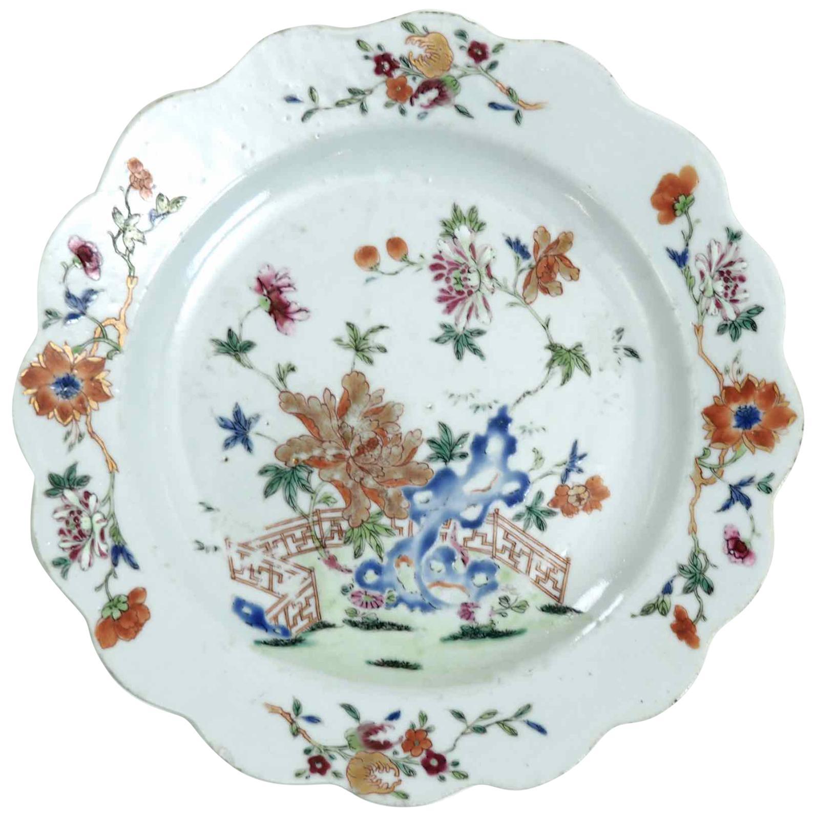 Chinese Plate, 18th Century