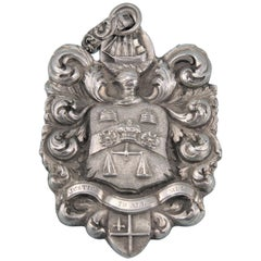 George IV Silver Sea-Coal Meter Badge, England, 1824