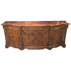 Absolut and One of a Kind, Sideboard in Finest Walnut with Inlays