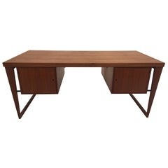 Writing Desk in Teak by Kai Kristiansen