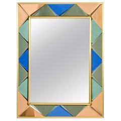 Vintage Cristal Art Mirror, 1960s