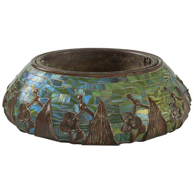 "Tiffany Studios ""Arrowhead"" Jardinière For Sale"