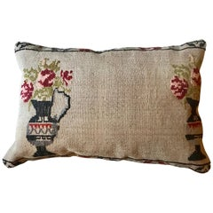 Vintage Hand Embroidered Turkish Pillow