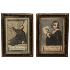 Pair of Prints of Renaissance Figures
