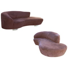 Single or Pair of Vladimir Kagan Cloud Sofas