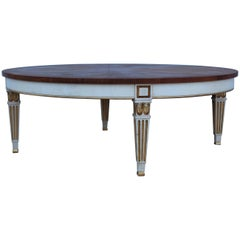 1950s Giltwood Coffee Table by Baker