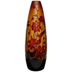 Monumental D'Argental Paul Nicolas Cameo Vase