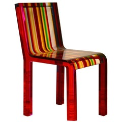 Rainbow Chair in Acrylic Resin by Patrick Norguet for Cappellini