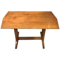 Oak Arts & Crafts Period Cotswold School Dining Table