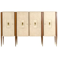Vintage Sideboard by Italian Architect and Designer Gio Ponti, 1950s