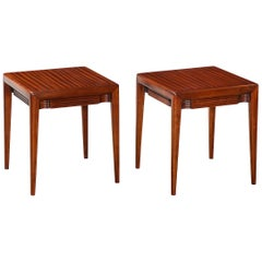 Pair of Low Side Tables by Osvaldo Borsani