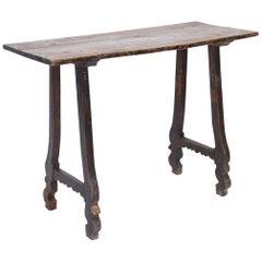 19th Century Rustic Spanish Table