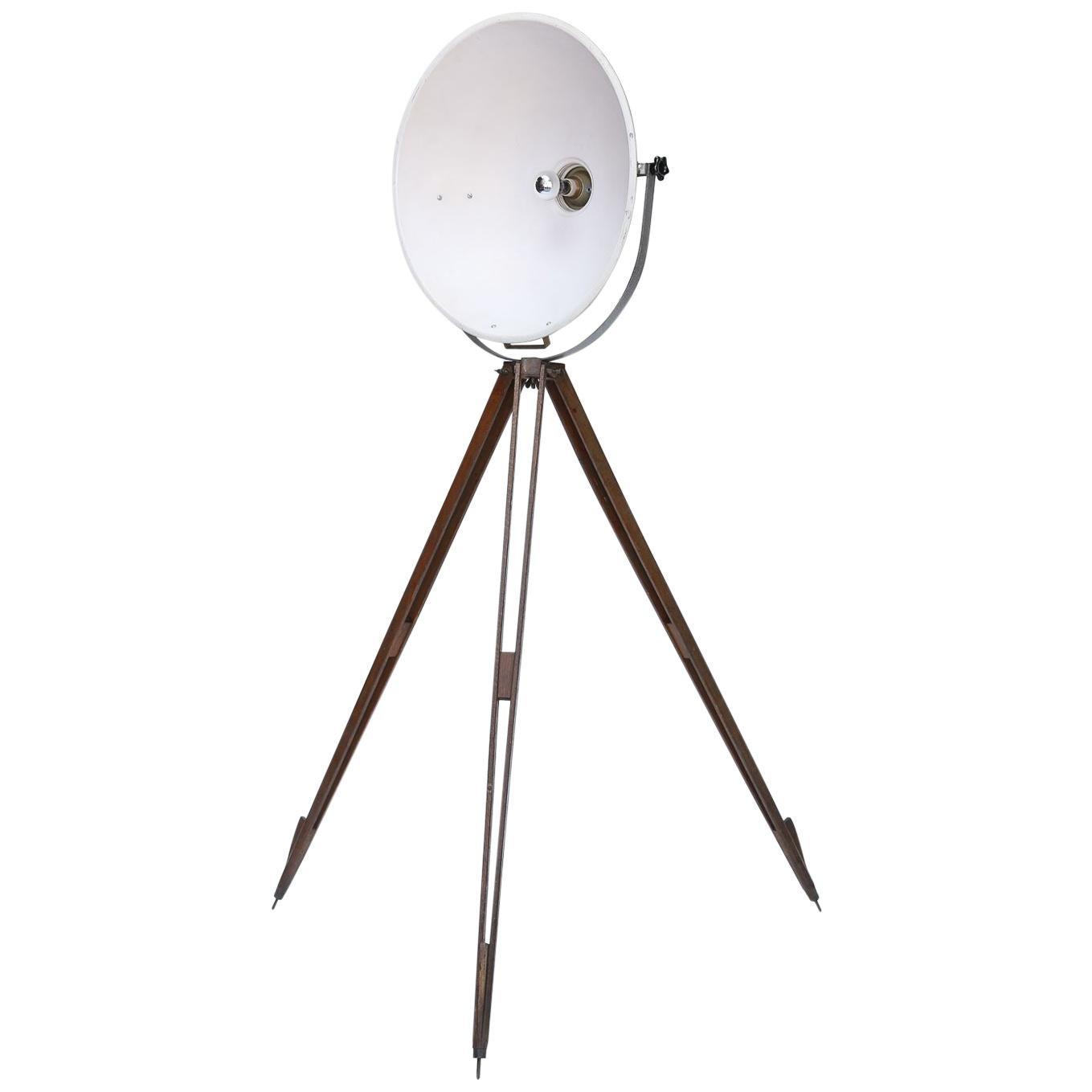 Industrial Tripod Floor Lamp