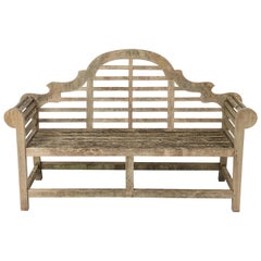 Lutyens Style Teak Garden Bench Seat from England