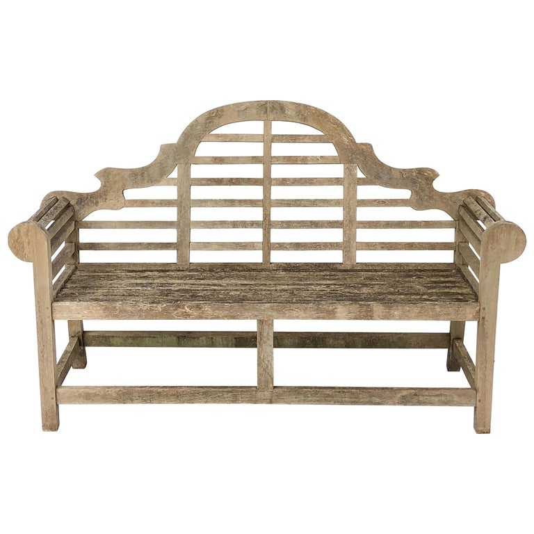 Marvelous Lutyens Style Teak Garden Bench Seat From England At 1Stdibs Gmtry Best Dining Table And Chair Ideas Images Gmtryco