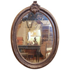 Italian Frame circa 1790 with New Antiqued Mirror
