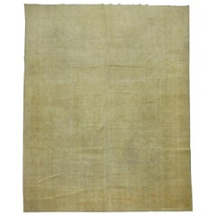 Pale Persian Tabriz Rug