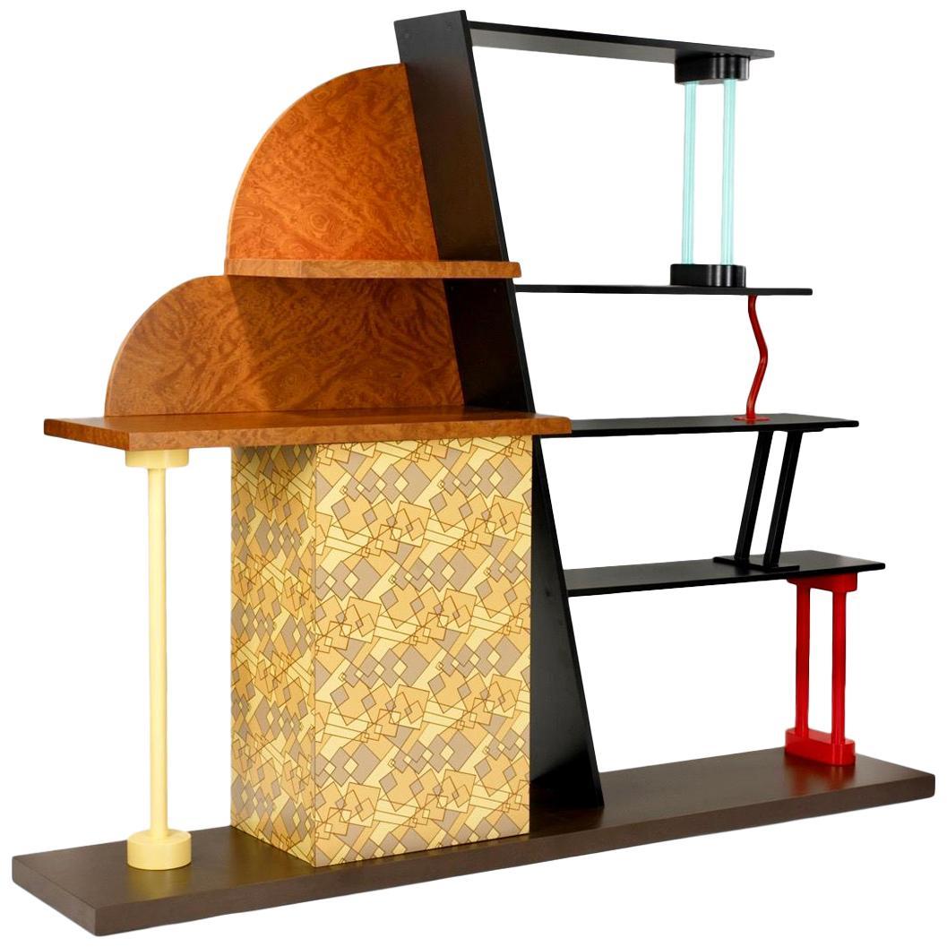 Ettore Sottsass Malabar Cabinet for Memphis Milano