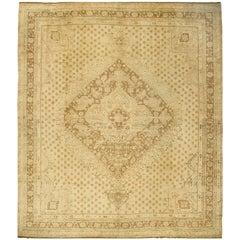 Turkish Oushak circa 1940 Rug Carpet