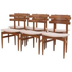 Edmund Jørgensen Dining Chairs Set of 6