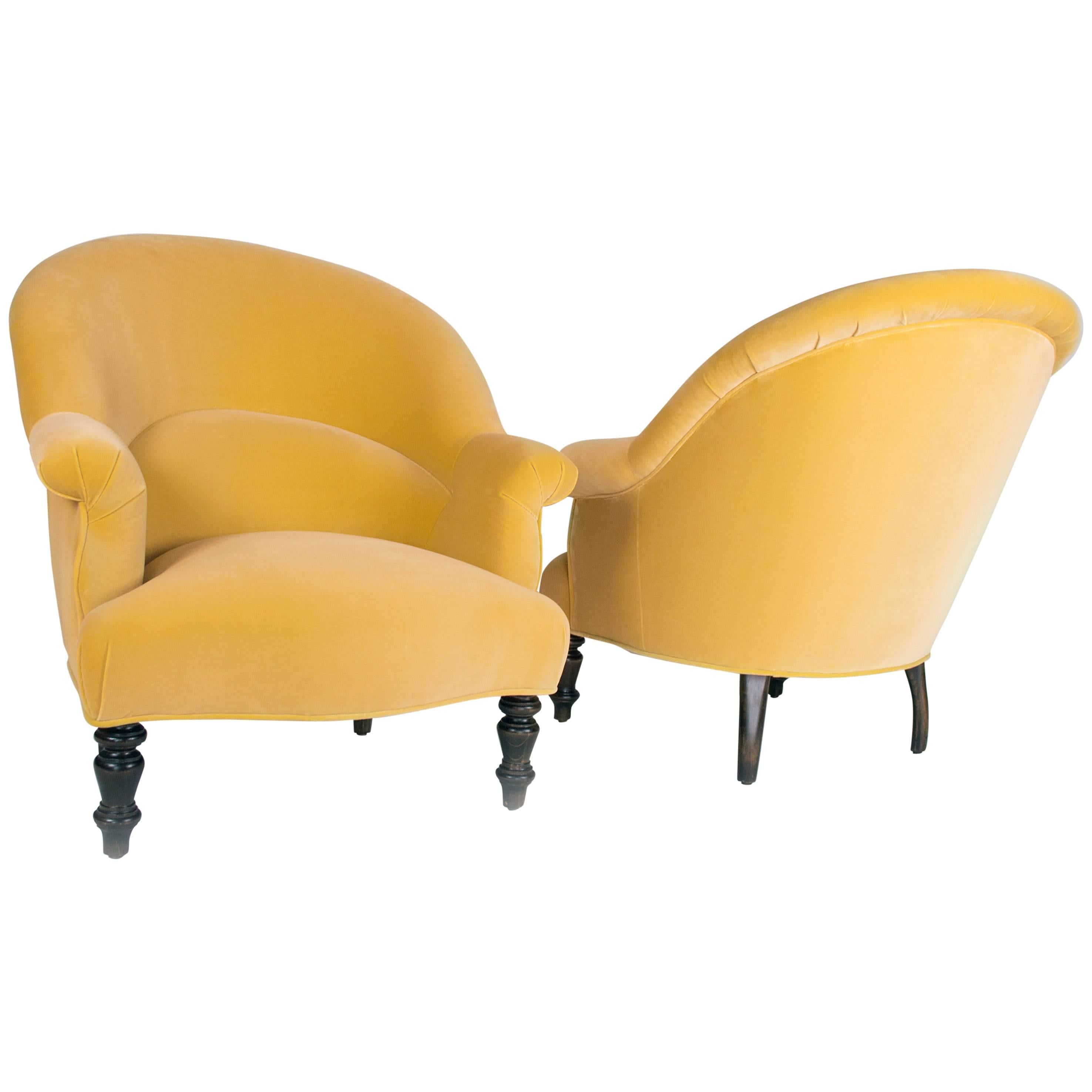 Pair of Clarence Chairs