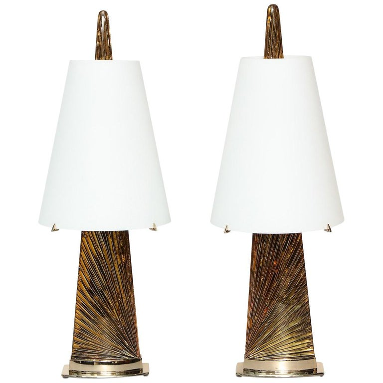 """Studio-Made """"Abisso"""" Lamps by Ghiró Studio For Sale"""