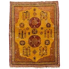 1920s Antique Khotan Rug