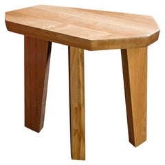 "Oak Side Tables by Jacques Jarrige ""Nazca"""